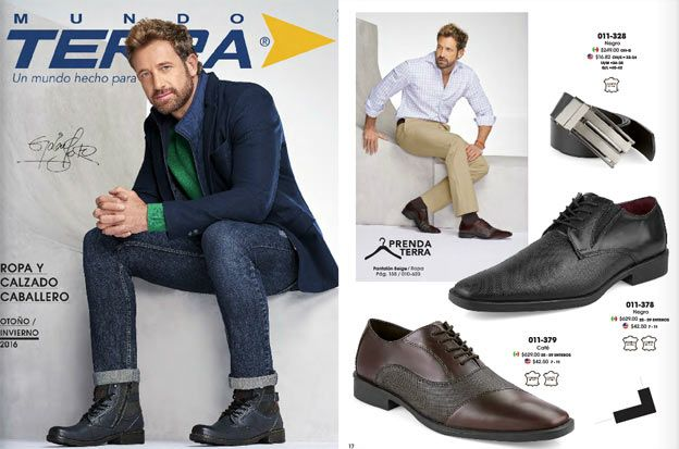 Catalogo Mundo terra caballeros ropa y zapatos  PV 2017