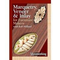 Woodworking video: Marquetry, Veneer & Inlay for Furniture Makers | Shop Woodworking | Add details to your furniture! #marquetry