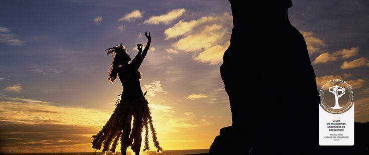 """Vive la cultura Rapa Nui junto a nosotros"". Informaciones en http://www.hotelrapanui.com/signature-offers/a-ltimo-minuto.htm"