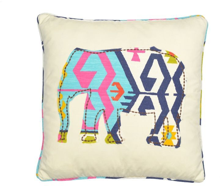 Kohl's Malawi Elephant Throw Pillow