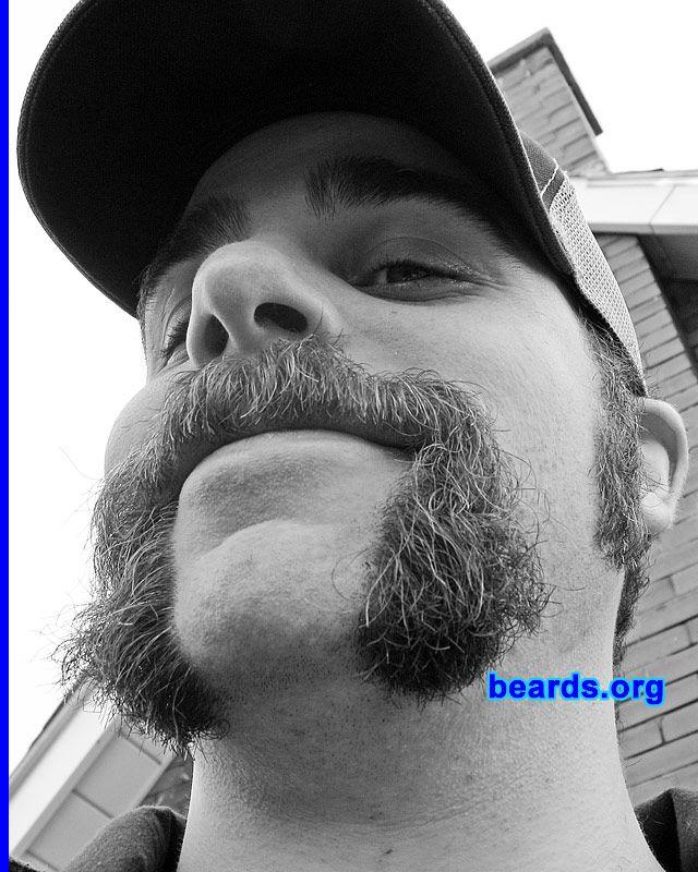 Ha ha! Love the horseshoe mustache.