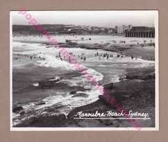 Postcard of Maroubra beach.