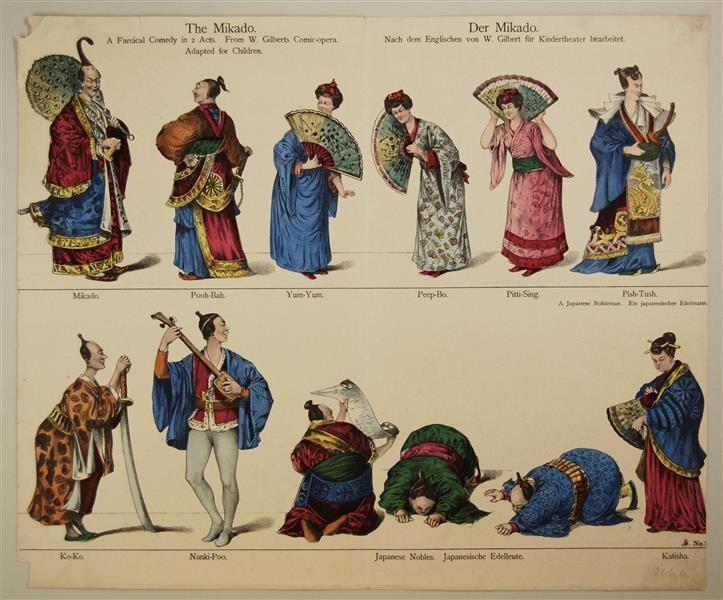 Der Mikado. Nach dem Englischen von W. Gilbert für Kindertheater bearbeitet. No. [266 a.]
