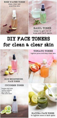 12 Natural DIY Face Toner für saubere und klare Haut