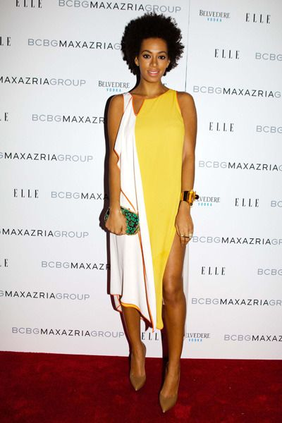 Solange Knowles - Celebs Go To Fashion Week