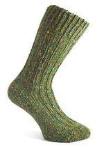 LESNÍ ZELEŇ, vlněné ponožky, Donegal, Irsko