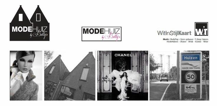 Logo ModeHUIZ ontwerp WitInStijl