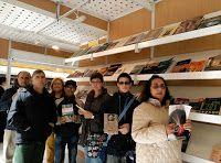 En esta nueva sesión del club de lectura, viernes 12 de mayo, el club de lectura Cuentahistorias nos hemos acercado al stand de del Camino de Santiago dado que en  estos momentos estamos leyendo el libro: El misterio del Camino de Santiago de Fernando Morillo Gande