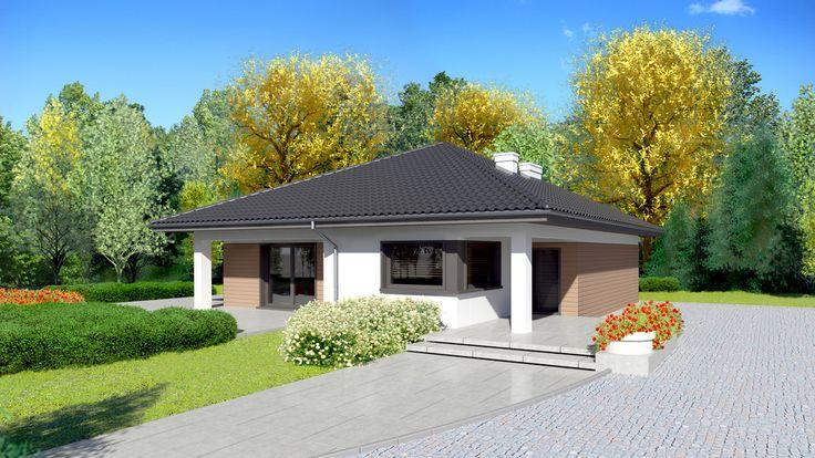 Wizualizacja Dom przy Makowej 3 CE