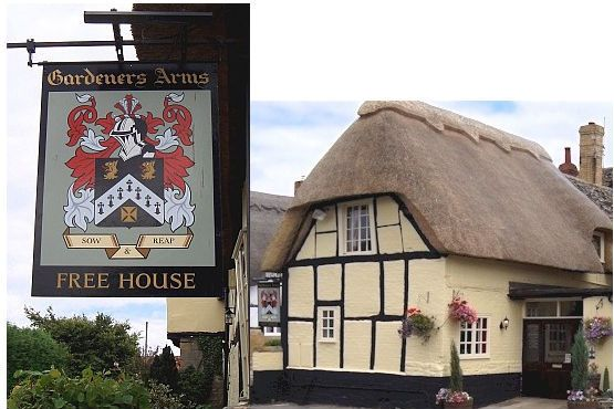 "Reminds me of the ""Black Dog"" pub we visited near Salisbury."