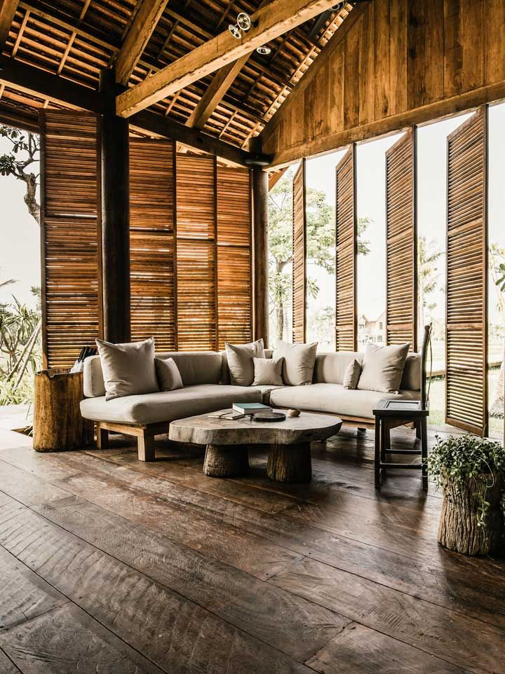 Inspired by traditional Cambodian farmhouses, the lobby at Phum Baitang oozes rustic charm. #Indistay | Siem Reap, Cambodia