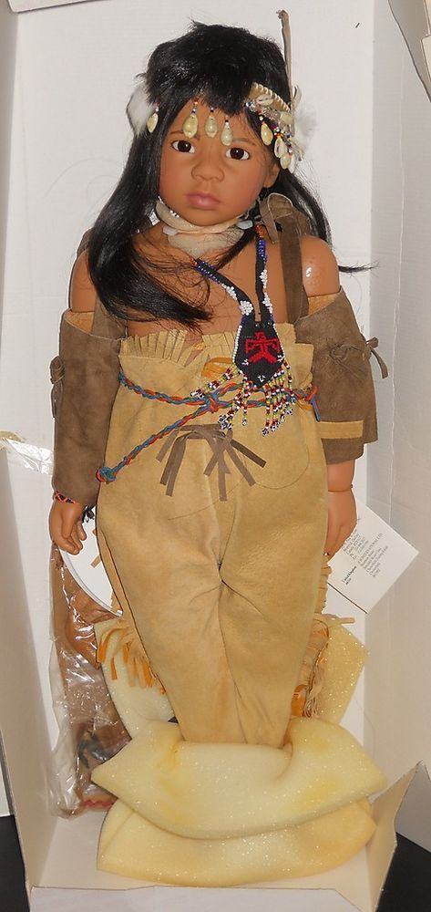 GOTZ KARIN SCHMIDT DOLL CHILDREN OF THE EARTH WOKOKA #Gotz #Dolls