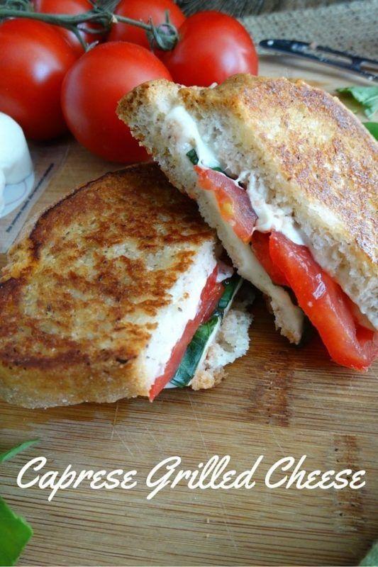 Caprese Grilled Cheese | Living Linda