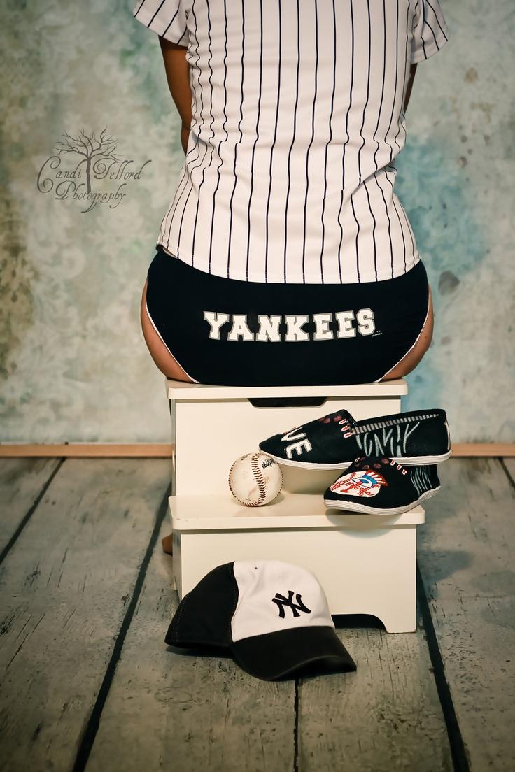 Yankees baseball Boudoir Photography  Candi Telford Photography