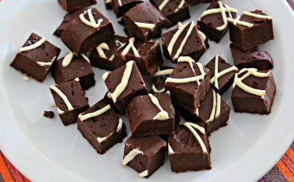 Fudge de chocolate #RecetasdeCocina #RecetasFáciles #Postres #PostresFáciles #Desserts #SugarLovers @saborencristal