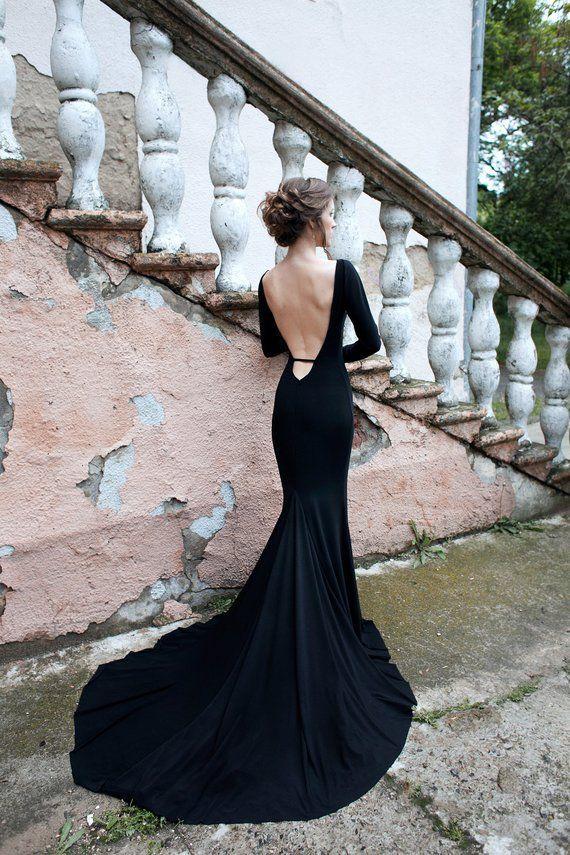 Wedding Dresses Black Wedding Gowns Black Wedding Dresses Bridesmaid Dresses With Sleeves