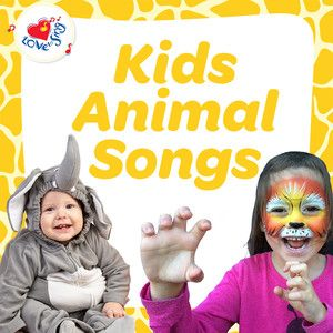 Animal songs for kids! The BEST collection of animal songs for kids to dance, sing, act and ROAR along to #lovetosing #animalsongs