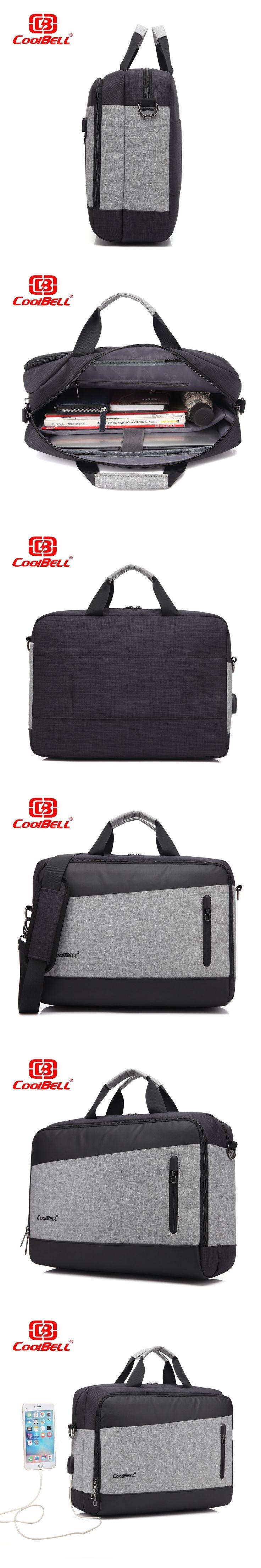 2017 Waterproof USB Charging 15.6inch Laptop Messenger Bag For Women Men Briefcase Business Notebook Shoulder Bag
