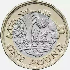 The new 12 sided pound coin