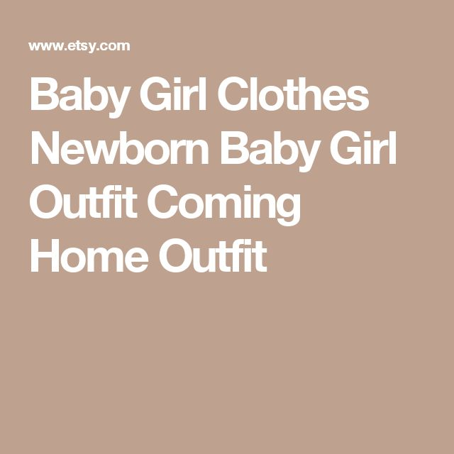 Baby Girl Clothes Newborn Baby Girl Outfit Coming Home Outfit