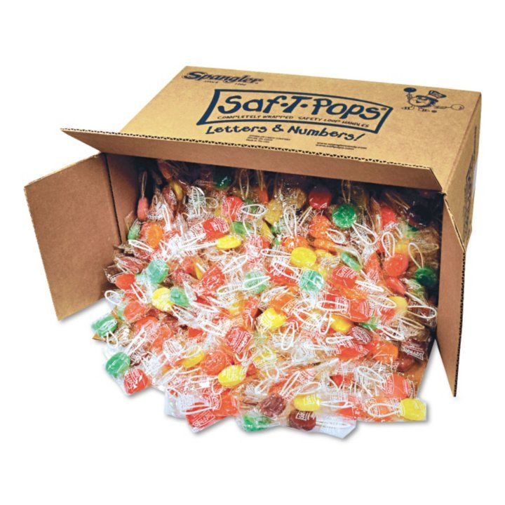 Sam's Club - Spangler Saf-T-Pops - 25lb. Box
