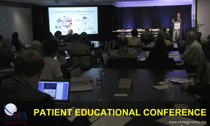 SFA Patient Educational Conference - May 2, 2015, Convene, New York City #sarcoma