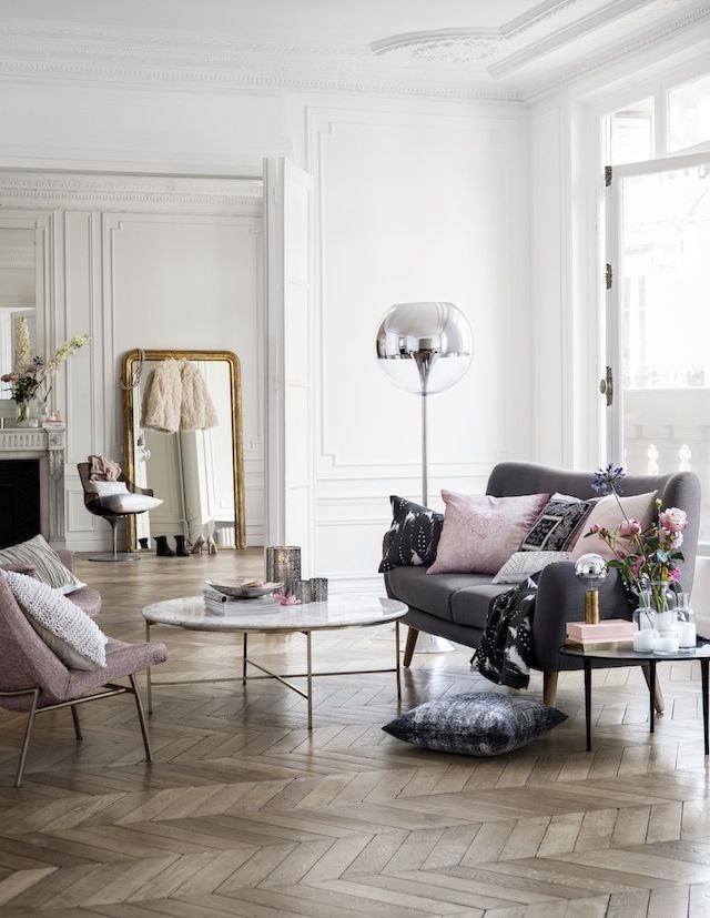 furniture, sure, how bout can I have this room? high ceilings, giant windows, and that floor! the dream