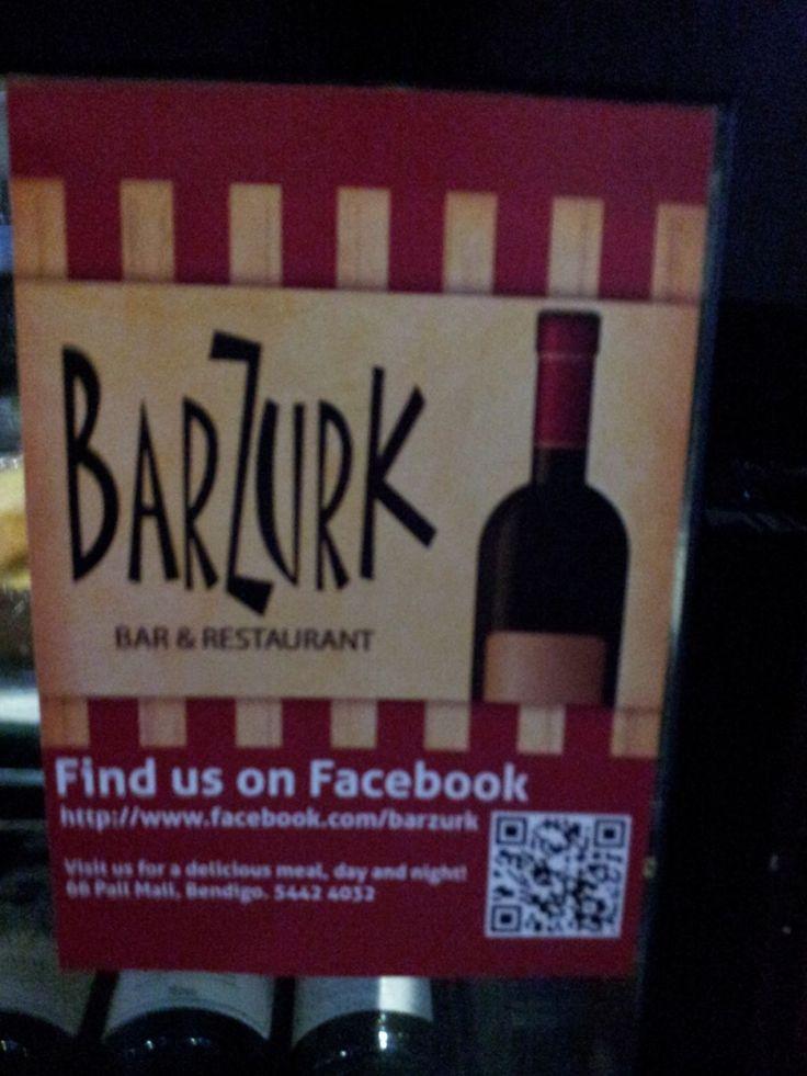 Day3: Favourite Cafe/Restaurant: Bazurk Bendigo Twitter / Fraloob: #BendigoTalksAugPhotoADay Day ...