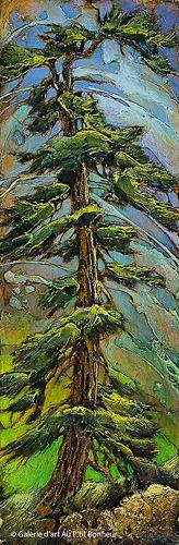 David Langevin, 'Green Solution', 9'' x 27'' | Galerie d'art - Au P'tit Bonheur - Art Gallery