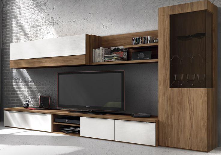 M s de 1000 ideas sobre muebles para tv modernos en - Muebles boom salones ...