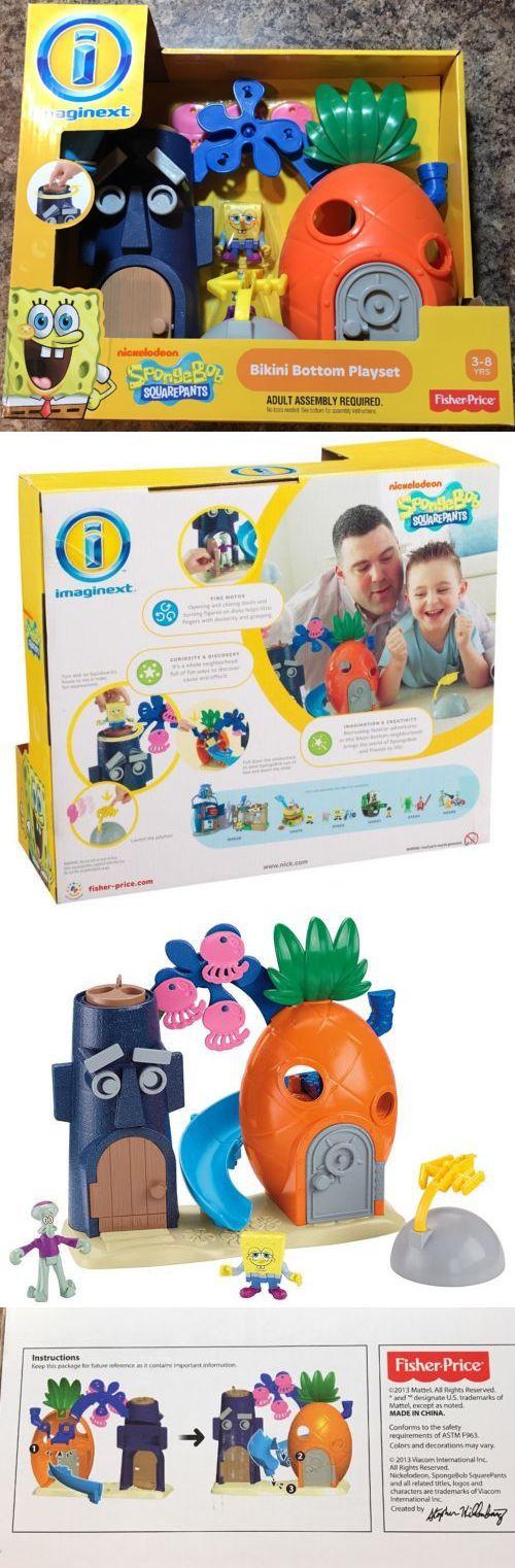 Imaginext 50305: Fisher Price Imaginext Nickelodeon Spongebob Squarepants Bikini Bottom Playset -> BUY IT NOW ONLY: $33 on eBay!