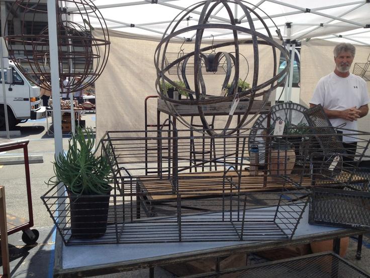 Long Beach Swap Meet - the Architectural Garden