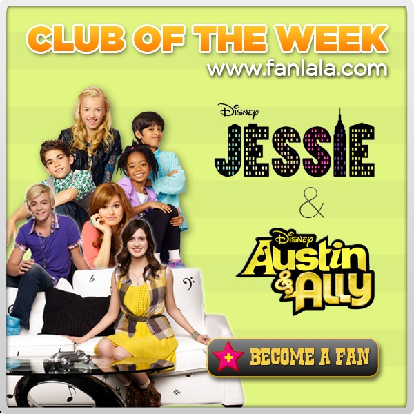 Jessie & Austin and Ally. Khloe's favorite shows. And I don't hate them:)