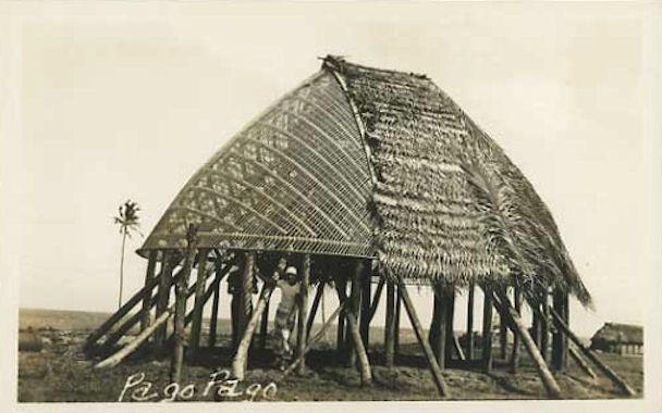 ·Samoa fale (house)