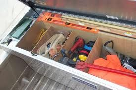 truck toolbox dividers | Need to remember | Truck tool box