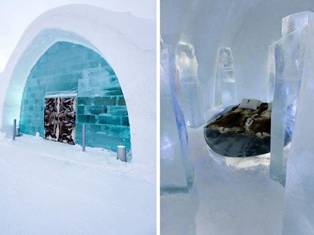 Ice Hotel, hotel de gelo na Suécia (Foto: Big Ben Productions/Divulgação)