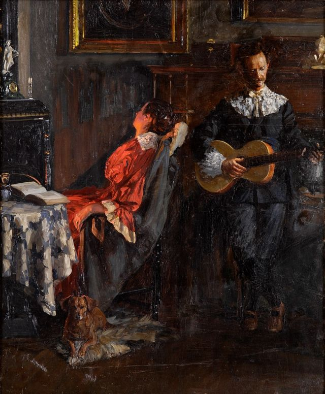 1000+ images about Antonio Mancini (Italian 1852-1930) on Pinterest ...