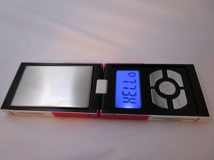 Cigarette Pack Folding Electronic Back-lit Digital Pocket Scale Flips 200g x.01g #UnbrandedGeneric