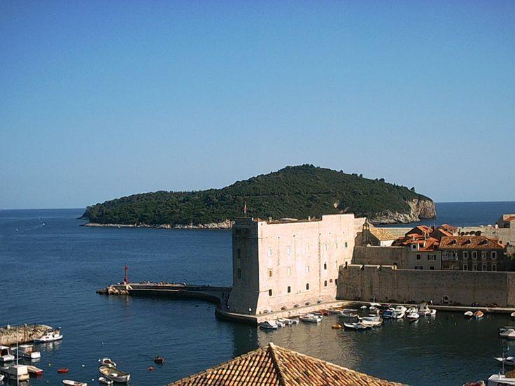 Chorwacja, widok na wyspę Lokrum w Dubrovniku. #chorwacja #dubrovnik #lokrum http://www.chorwacja24.info/poludniowa-dalmacja/dubrovnik
