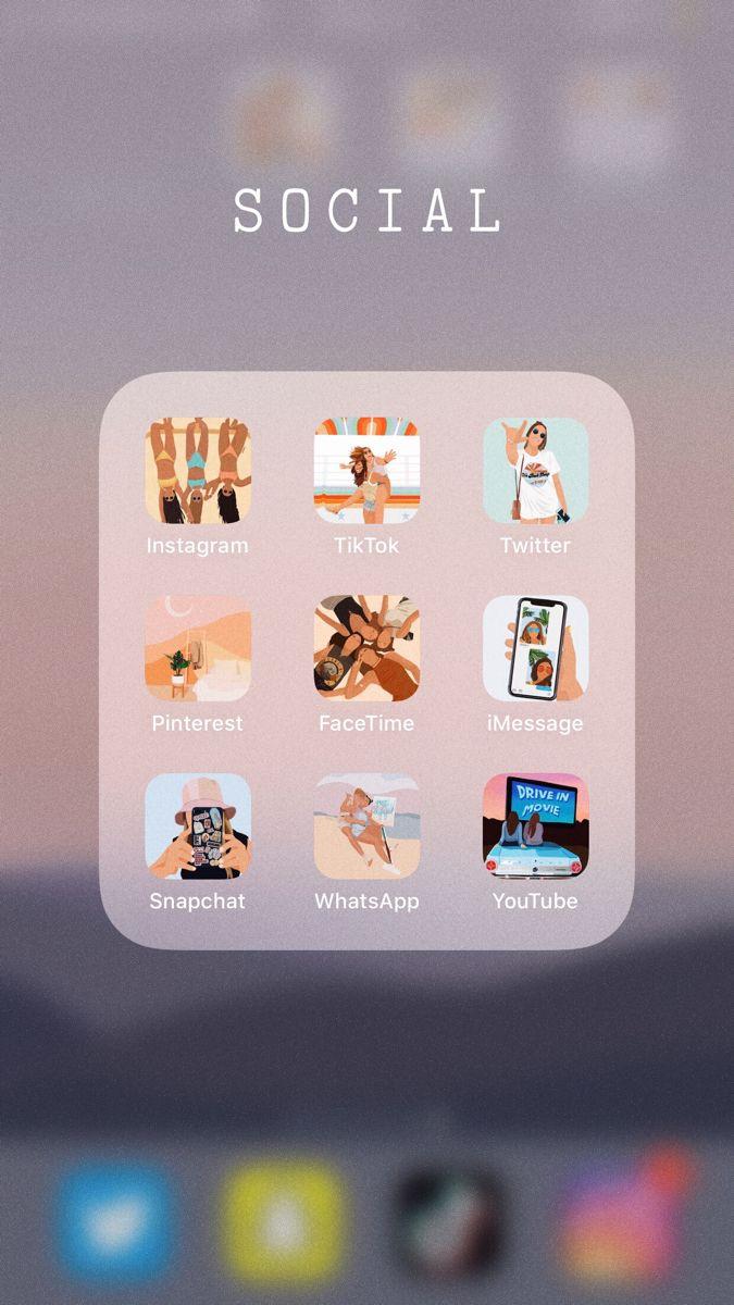 Cómo Cambiar Los Iconos De Tus Apps Personaliza Tu Celular Aesthetic The Media Style Apps Personalizar Iconos