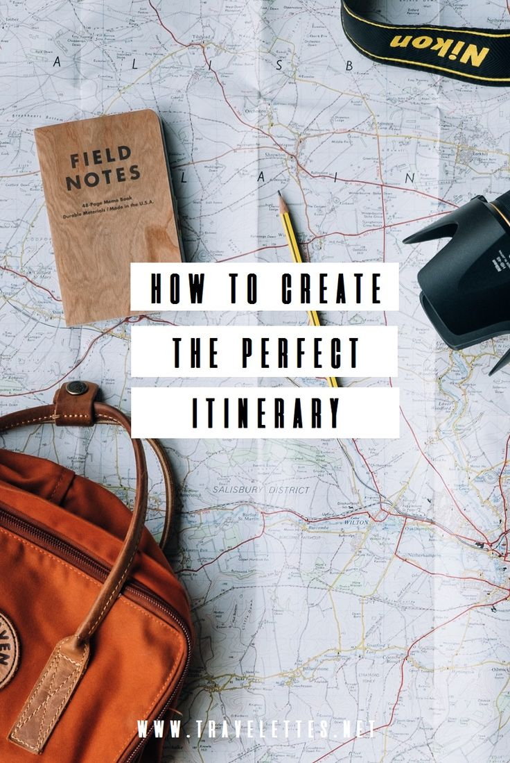 Travelettes » » How To Create the Perfect Itinerary