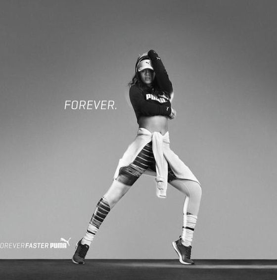 """Rihanna ROCKS Her First PUMA Ad Campaign!- http://getmybuzzup.com/wp-content/uploads/2015/04/451028-thumb.jpg- http://getmybuzzup.com/rihanna-rocks-her-first-puma/- By Celeb Editor Rihanna rocks her first PUMA Ad Campaign, and she looks perfect! The """"American Oxygen"""" singer signed on as the creative director of PUMA last December and has previewed her first collaborative collection in her looks both on and off stage. The debut Rihanna x PUMA collection will ...- #Fashion,"""