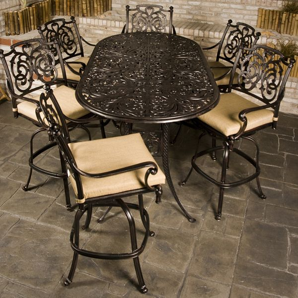 Relax In Style On Your Patio With The St. Augustine Bar Height Collection.  This Part 38