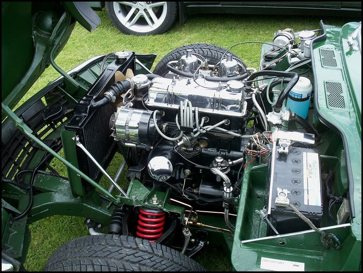 Triumph Spitfire Engine | I spent hours working on my Spitfi… | Flickr