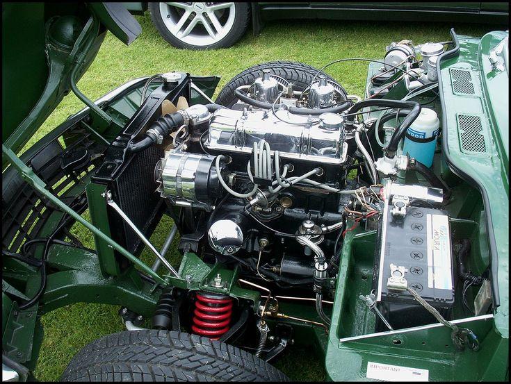 Triumph Spitfire Engine | I spent hours working on my Spitfi… | Flickr