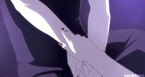 "♥ Kakashi (receiving seal) - from 6th movie: ""Naruto Shippuden the Movie: The Will of Fire"""