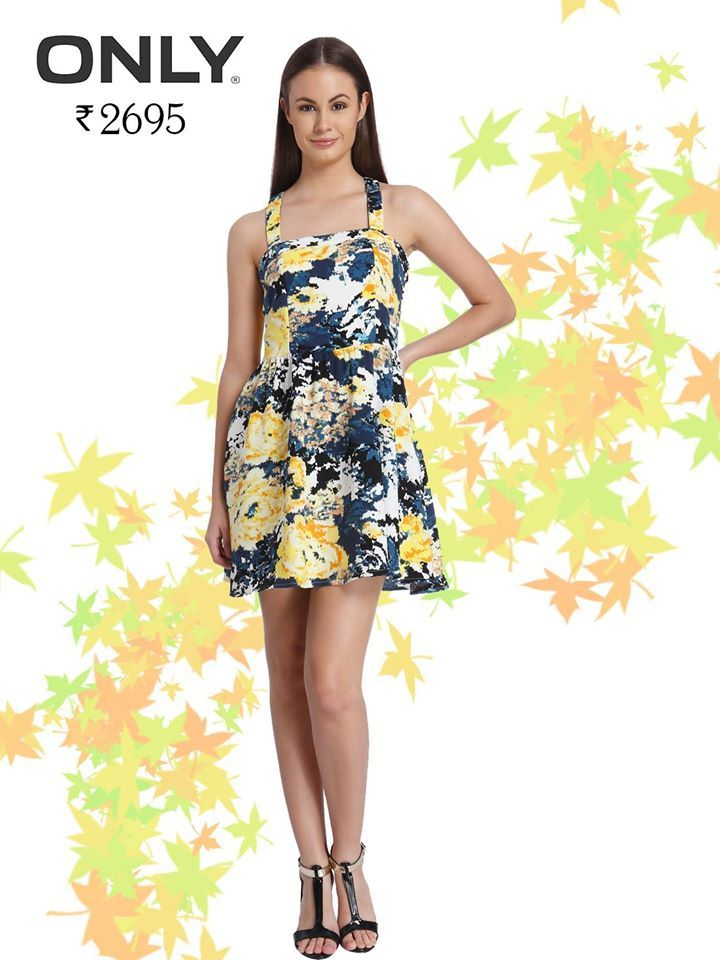 Treat yourself with some Floral Therapy Today... Shop for this floral dress at FLAT 50% OFF from Kapsons at http://bit.ly/2bavmjL #Kapsons #EndOfSeasonSale #Only