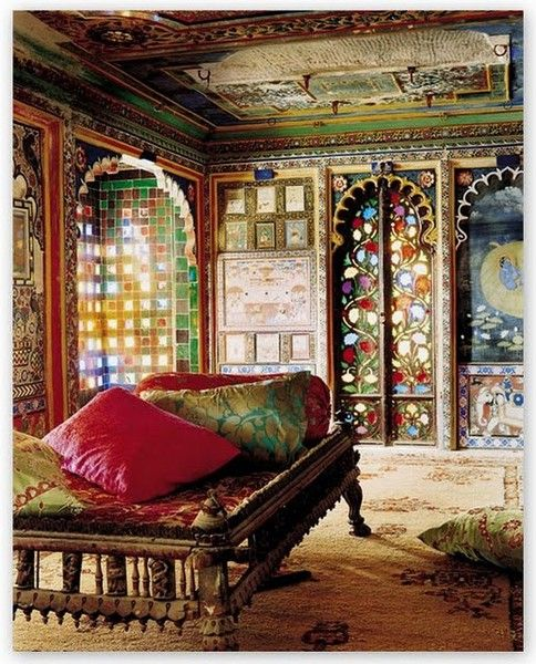 Love The Tile Work, Colors, And Archways, Good For Any Room Really (  Beautiful Interiors Photographed By Tobias Harvey )