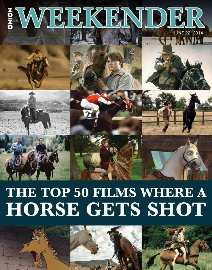 The Top 50 Films Where A Horse Gets Shot