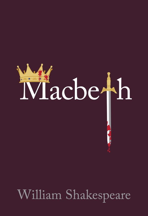 Citaten Shakespeare Macbeth : Macbeth book cover by cody johnson via behance